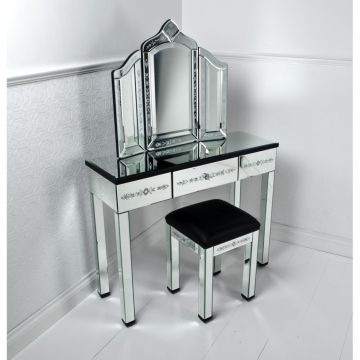 Classy Vanity Table Designs Picture