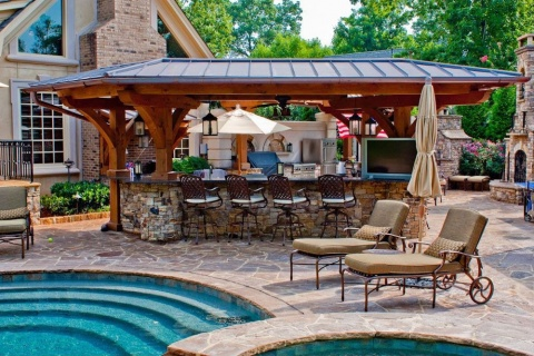 Design Ideas for a Practical Outdoor Kitchen Picture