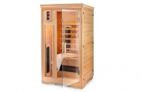 Outdoor vs. Indoor Infrared Sauna Comparison Picture