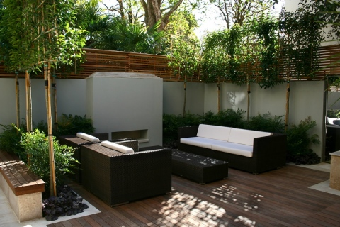 Relaxing Garden Designs Picture